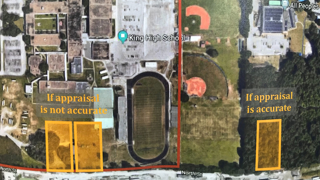 Investigators search for possible forgotten cemetery near King High School