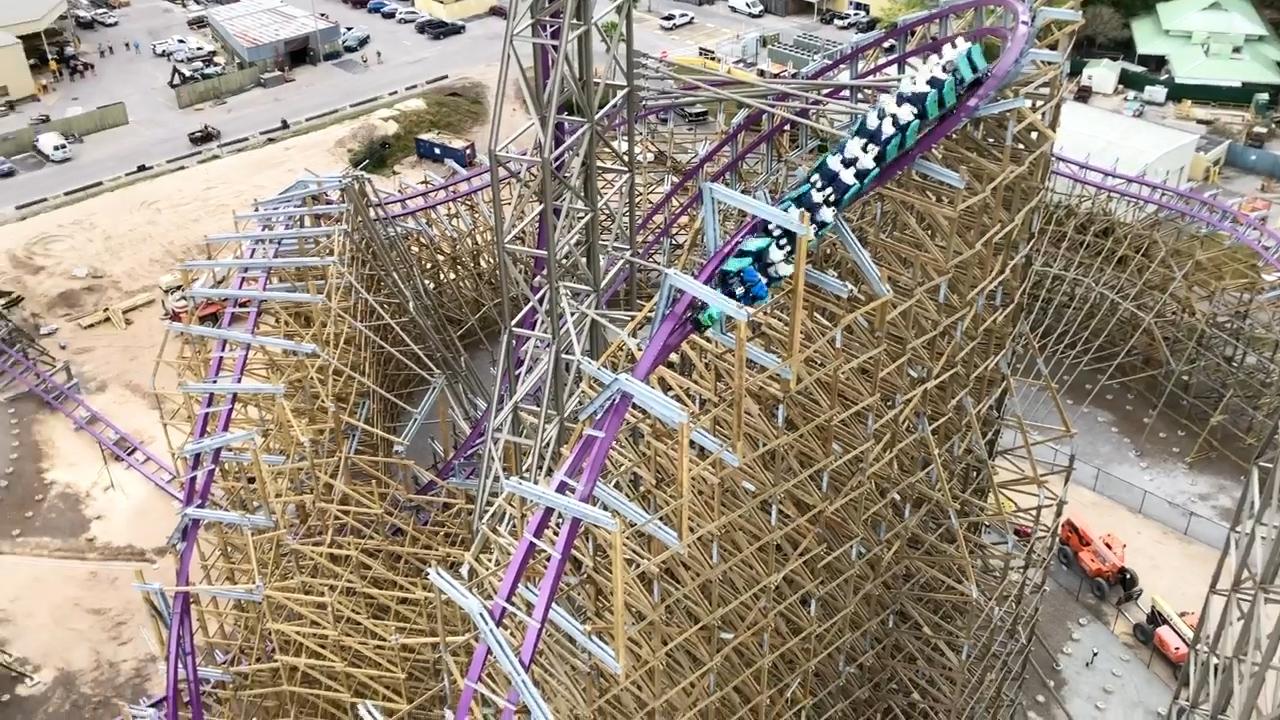 Iron Gwazi Is Almost Ready As Busch Gardens Begins Testing Newest